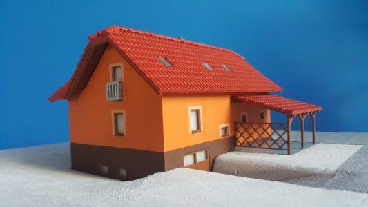 Model rodinného domu Nelahozeves