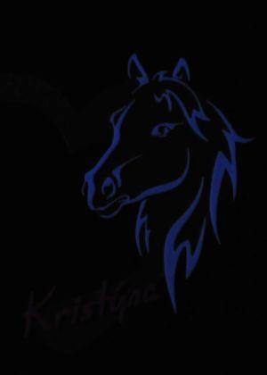 Jmenovka na dveře - modrá fluorescence