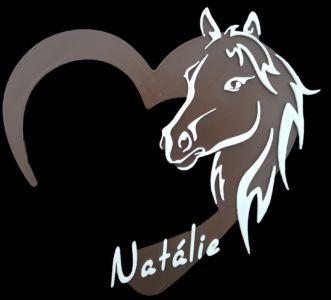 Jmenovka na dveře - kůň