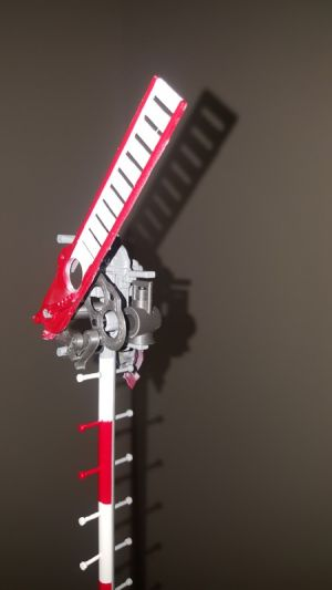Jednoramenné mechanické návěstidlo