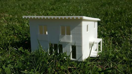 Model rodinného domu Libušín - pokladnička